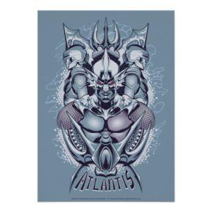 Aquaman | King Orm of Atlantis Graphic Poster