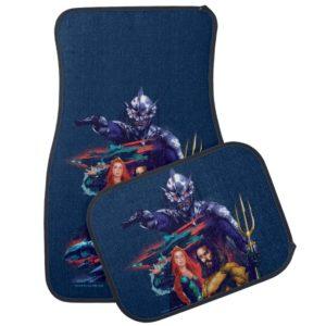 Aquaman | King Orm Versus Mera & Aquaman Car Floor Mat