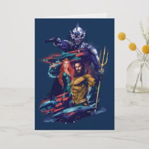 Aquaman | King Orm Versus Mera & Aquaman Card