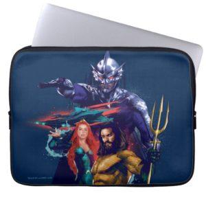 Aquaman | King Orm Versus Mera & Aquaman Computer Sleeve