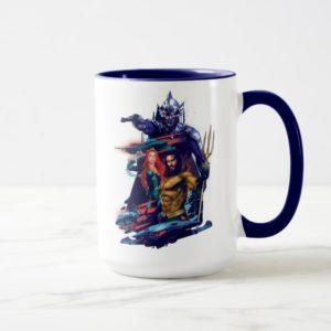 Aquaman | King Orm Versus Mera & Aquaman Mug