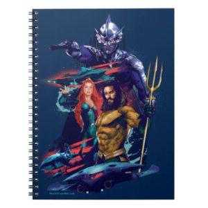 Aquaman | King Orm Versus Mera & Aquaman Notebook