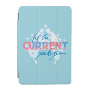 """Aquaman   """"Let The Current Guide You"""" Logo Graphic iPad Mini Cover"""