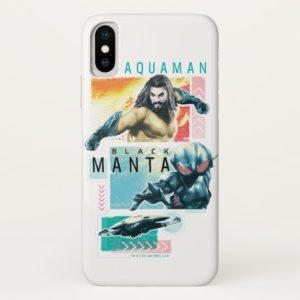 Aquaman | Modernist Aquaman & Black Manta Graphic Case-Mate iPhone Case