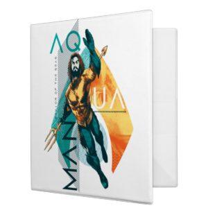 Aquaman | Modernist Aquaman Collage 3 Ring Binder