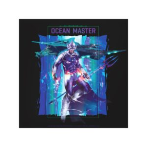 Aquaman | Ocean Master King Orm Refracted Graphic Canvas Print