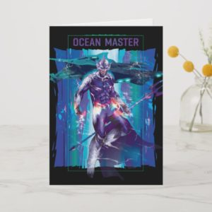 Aquaman | Ocean Master King Orm Refracted Graphic Card