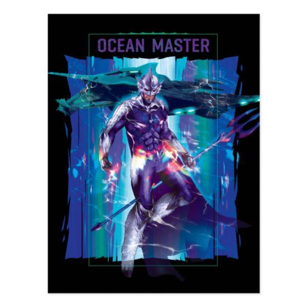 Aquaman | Ocean Master King Orm Refracted Graphic Postcard