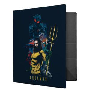 Aquaman | Orin, Mera, and Black Manta Graphic 3 Ring Binder