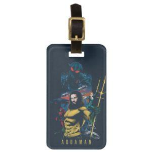 Aquaman | Orin, Mera, and Black Manta Graphic Bag Tag
