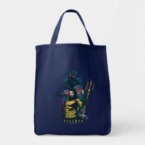 Aquaman | Orin, Mera, and Black Manta Graphic Tote Bag