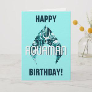 Aquaman | Orin, Mera, Orm & Black Manta In Symbol Card