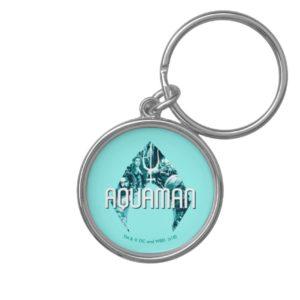 Aquaman | Orin, Mera, Orm & Black Manta In Symbol Keychain
