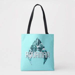 Aquaman | Orin, Mera, Orm & Black Manta In Symbol Tote Bag