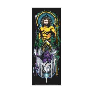 Aquaman | Orin & Orm Reversible Art Nouveau Panel Canvas Print