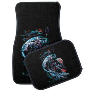 Aquaman | Orm, Black Manta, Tylosaur, & Ships Car Floor Mat