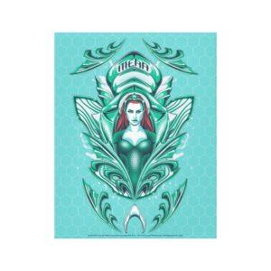 Aquaman | Ornate Mera Graphic Canvas Print