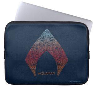 Aquaman | Paisley Aquaman Logo Computer Sleeve