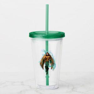 Aquaman | Prince Orin With Aquaman Logo Acrylic Tumbler