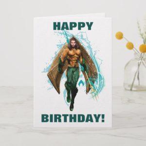 Aquaman | Prince Orin With Aquaman Logo Card