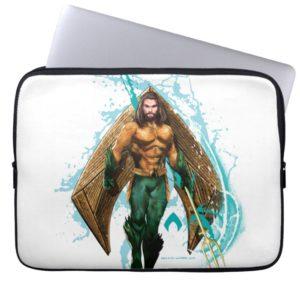 Aquaman | Prince Orin With Aquaman Logo Computer Sleeve