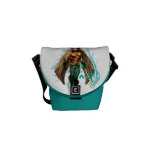 Aquaman | Prince Orin With Aquaman Logo Courier Bag