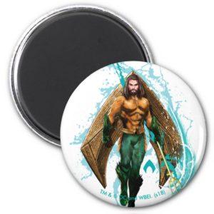 Aquaman   Prince Orin With Aquaman Logo Magnet