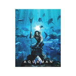 Aquaman | Prince Orin With Aquatic Animals Canvas Print