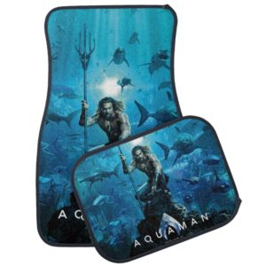 Aquaman | Prince Orin With Aquatic Animals Car Floor Mat