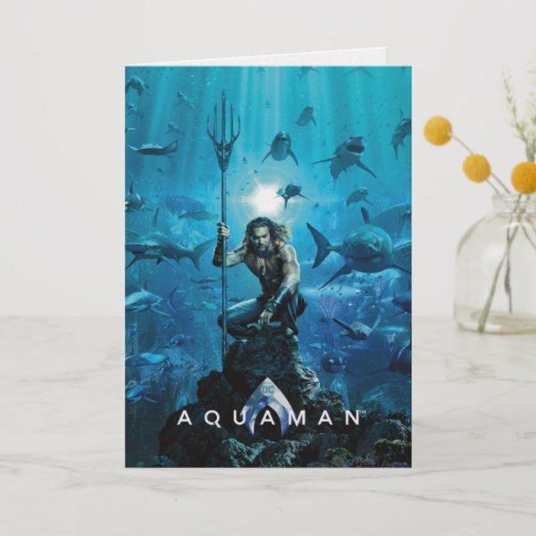 Aquaman | Prince Orin With Aquatic Animals Card