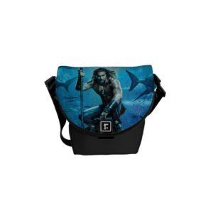 Aquaman | Prince Orin With Aquatic Animals Courier Bag
