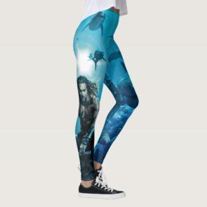 Aquaman | Prince Orin With Aquatic Animals Leggings
