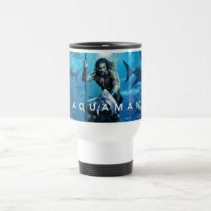 Aquaman | Prince Orin With Aquatic Animals Travel Mug