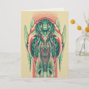 Aquaman | Queen Fisherman Art Nouveau Panel Card