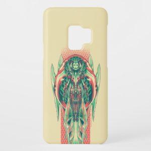 Aquaman   Queen Fisherman Art Nouveau Panel Case-Mate Samsung Galaxy S9 Case