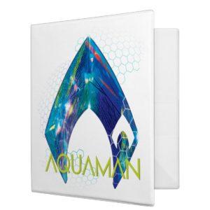 Aquaman | Refracted Aquaman Logo 3 Ring Binder