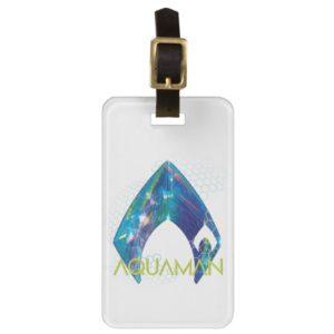 Aquaman | Refracted Aquaman Logo Bag Tag