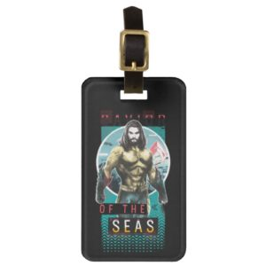 "Aquaman | ""Savior Of The Seas"" Modernist Graphic Bag Tag"