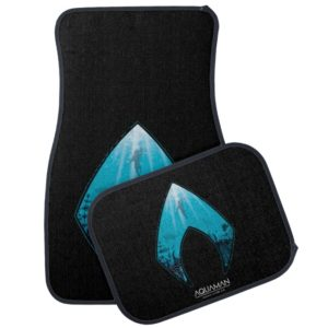Aquaman | See Through Aquaman Logo Ocean Graphic Car Floor Mat