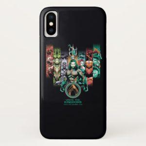 """Aquaman   """"Unite The Kingdoms"""" Atlanteans Graphic Case-Mate iPhone Case"""