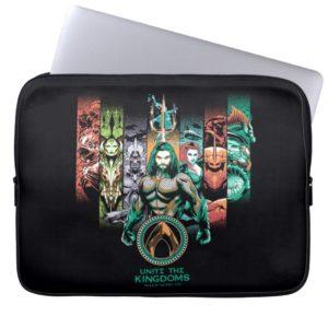 "Aquaman | ""Unite The Kingdoms"" Atlanteans Graphic Computer Sleeve"