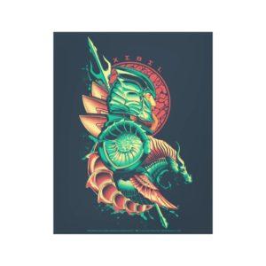 Aquaman | Xebel King Nereus Graphic Canvas Print