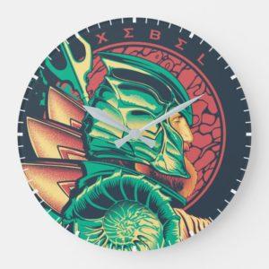 Aquaman   Xebel King Nereus Graphic Large Clock