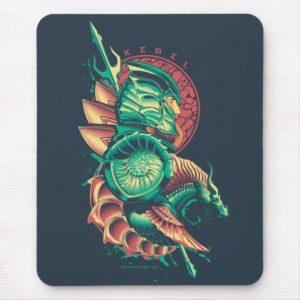 Aquaman   Xebel King Nereus Graphic Mouse Pad