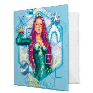 Aquaman | Xebel Princess Mera Hexagonal Graphic 3 Ring Binder