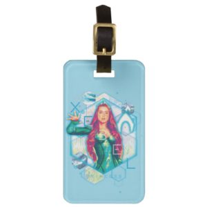 Aquaman | Xebel Princess Mera Hexagonal Graphic Bag Tag
