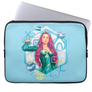 Aquaman | Xebel Princess Mera Hexagonal Graphic Computer Sleeve