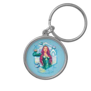 Aquaman | Xebel Princess Mera Hexagonal Graphic Keychain