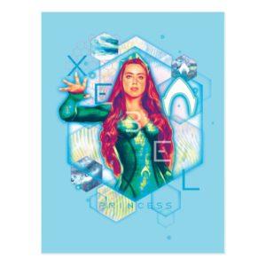 Aquaman   Xebel Princess Mera Hexagonal Graphic Postcard