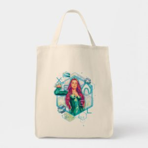 Aquaman | Xebel Princess Mera Hexagonal Graphic Tote Bag